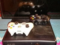 Xbox 360 comes with 40 games installed on it n two controllers