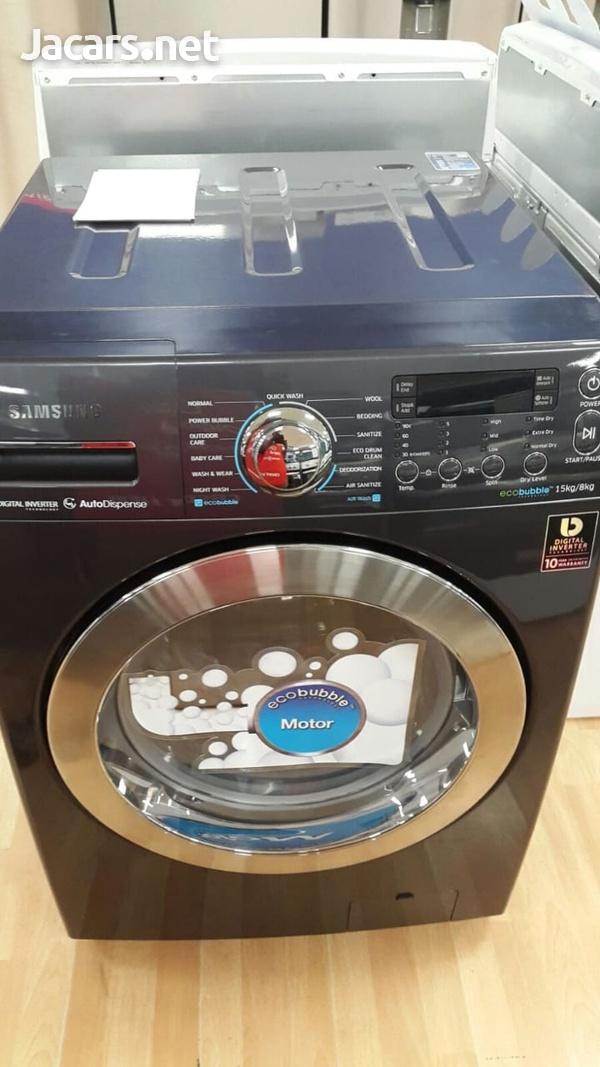 SAMSUNG WASHER AND DRYER COMBO-3
