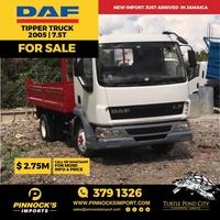 2005 DAF Tipper 7.5T Truck