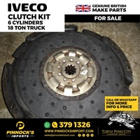 IVECO CLUTCH KIT 6 CYLINDERS 18 TON TRUCK