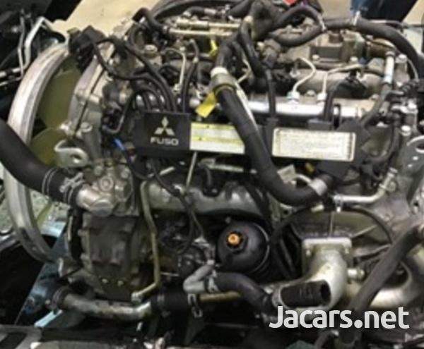 Mitsubishi Canter Fuso 4P10 Engine scrapping-2