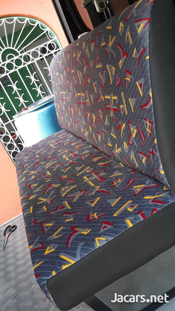 HAVE YOUR BUS FULLY SEATED OUT.WE BUILD AND INSTALL BUS SEATS.CONTACT 8762921460-10