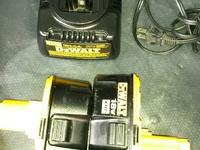 18vlt dewalt battery and charger