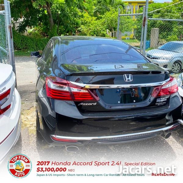 Honda Accord 2,4L 2017-5