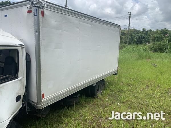 Crashed Isuzu Truck-3