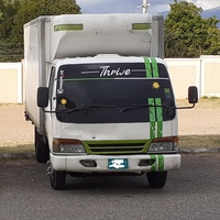 1997 Isuzu Elf Box Truck