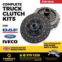 COMPLETE CLUTCH KITS DAF / FORD / IVECO