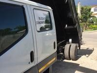 Mitsubishi Canter twin Cab Dropside Tipper Truck