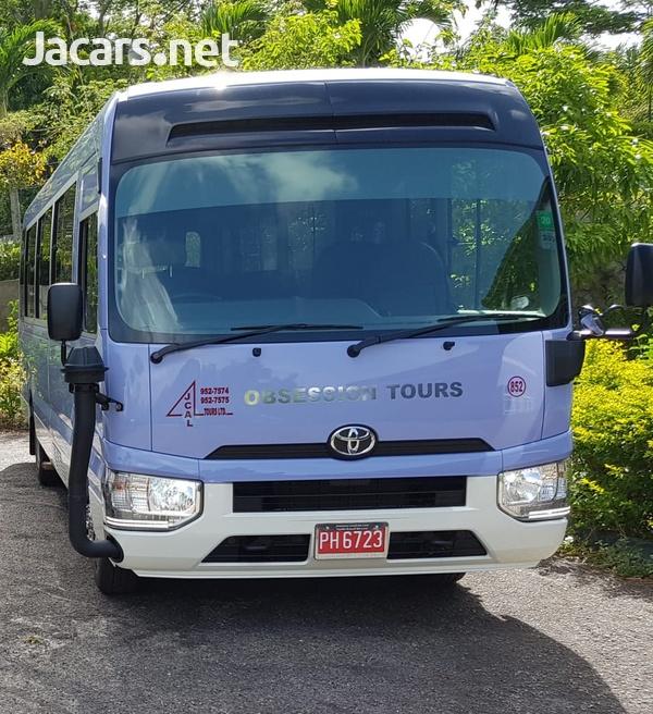 2019 Toyota Coaster Bus-1