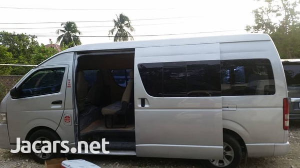 2011 Toyota Hiace Commuter Bus-5