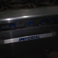 Imperial 6 burners Stove
