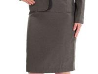 NWT 3-Piece Le Suit Skirt Suit - sz 4 US