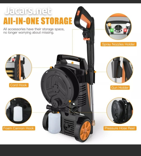Famistar Max 2300PSI Pressure Washer Electric 1800W High Pressure Power Washer C-3