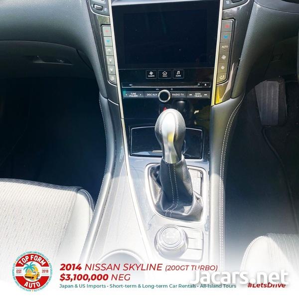 Nissan Skyline 2,0L 2014-6