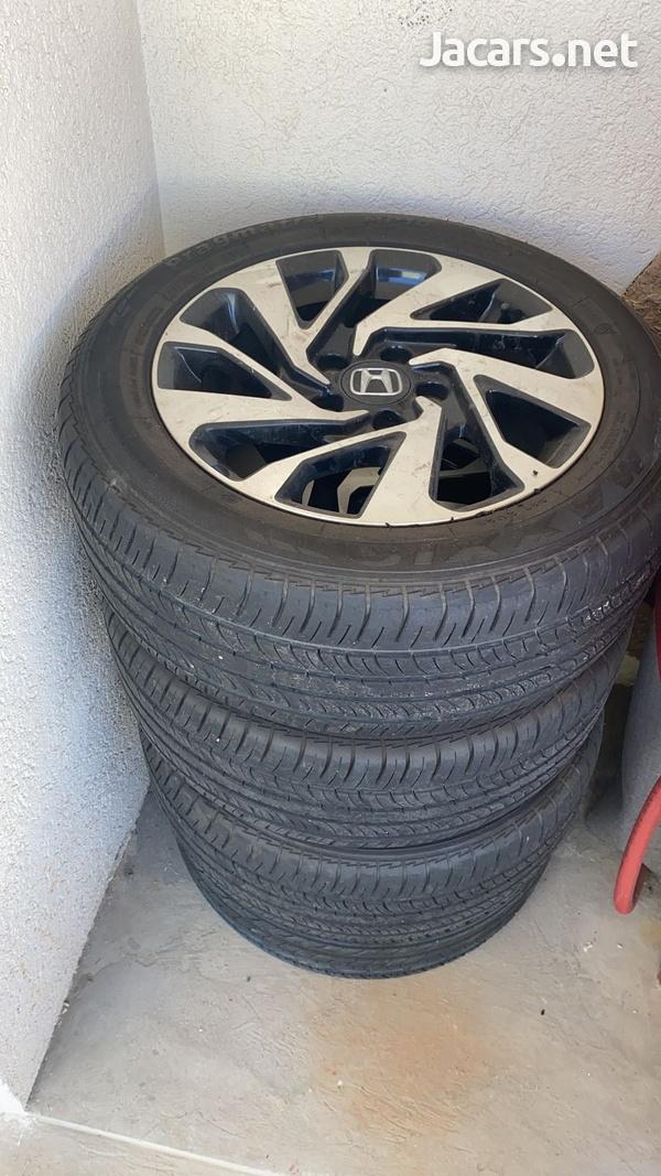 Honda Civic Stock Rims-2