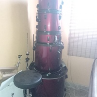7 piece astro drum set