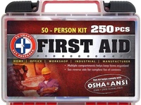First Aid Kit 250 items