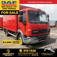 DAF Box Truck 7.5T 2008