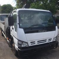 Isuzu NQR Dropside Crane Truck
