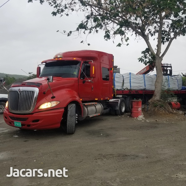 2010 Prostar and Flatbed-1
