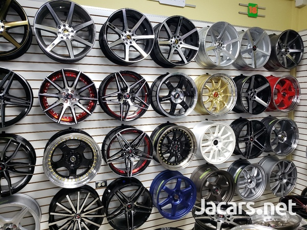 Rims, Diffuser, lugs, steering cover, back up camera, touchscreen radio, etc-1
