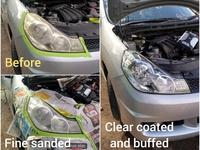 2 years lasting head lamp restoration service