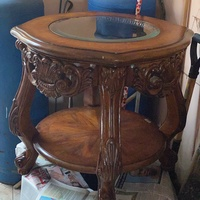 Round Top Center Table