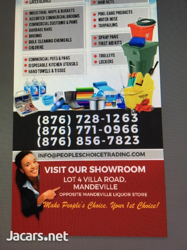 Commercial & Household Cleaning ,Restaurant Supplies-1