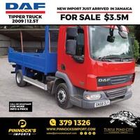 DAF Tipper Truck 2009 12.5T