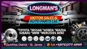 Longmans Motor Sale