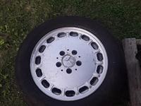 Benz spare rim