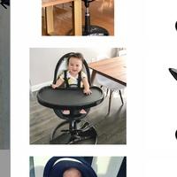 Fresco frame +Booster seat + Feeding tray + Play tray + Safety bar + Footrest.