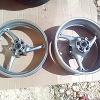 2011 to 2018 Suzuki GSXR 600 750 Front and rear wheels