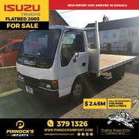 2003 Isuzu Flatbed Truck