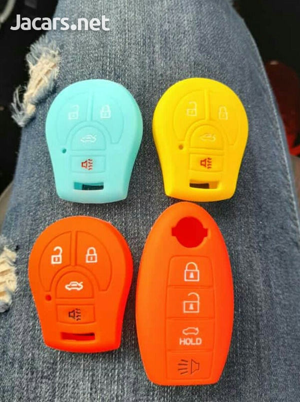 Silicone car key cases-7