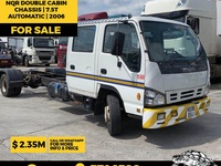 Isuzu NQR Double Cabin Chassis 7.5T 2006