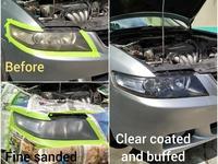 2 years lasting vehicle head lamp restoration service