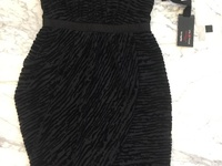 NWT Impulse Cocktail Dress - black - sz 4 US