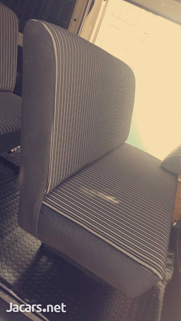 HAVE YOUR BUS FULLY SEATED OUT.WE BUILD AND INSTALL BUS SEATS.CONTACT 8762921460-5