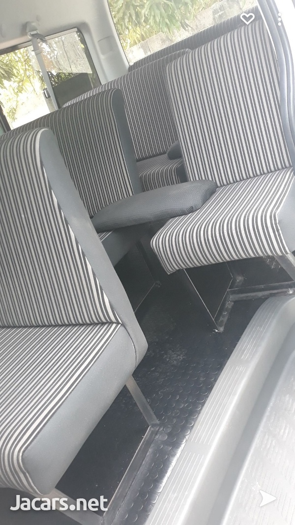 HAVE YOUT BUS FULLY SEATED OUT WITH FOUR ROWS OF SEATS.CONTACT 8762921460-12