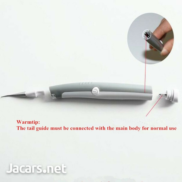 Dental Sonic Ultrasonic Scaler Tartar Clean LED Tooth Pick Whitening Teeth Scali-7