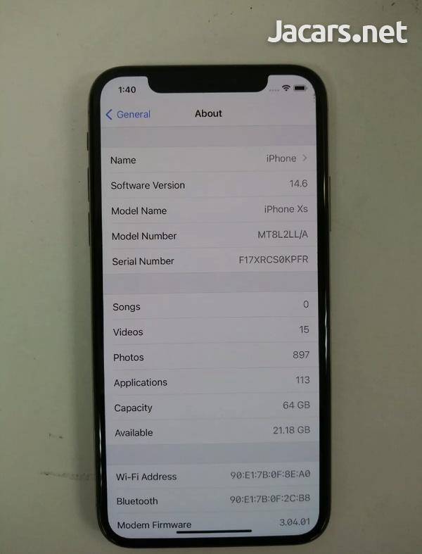 iPhone XS 64GB GOOD CONDITION-2