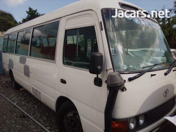 2012 Toyota Coaster Bus-1