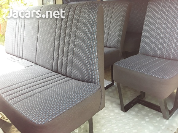 WE BUILD AND INSTALL BUS SEATS