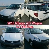 Nissan AD Wagon 1,4L 2015