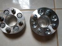 2 lugs wheel spacer 1 inch