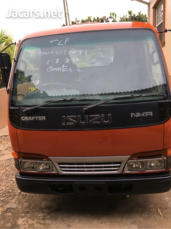 2004 Isuzu NKR Tipper Truck-1