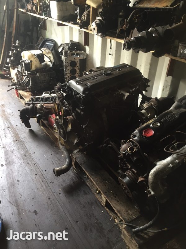 Mitsubishi Canter / Isuzu Engines-4