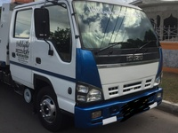 Isuzu NQR Twin Cab Tilt n Slide Wrecker/Tail lift Truck