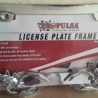 license frame Scorpion
